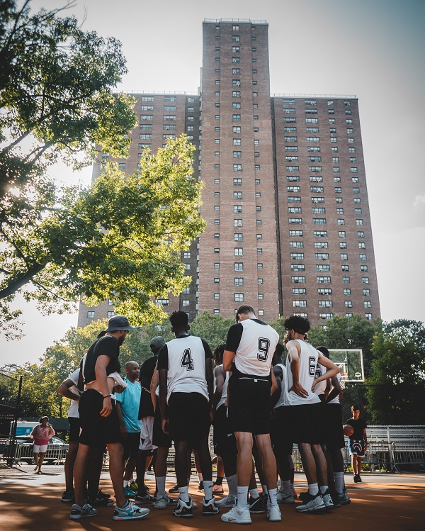 Rucker Park buildings